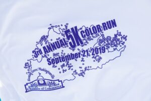 Blooming Grove Washingtonville Color Run 2019